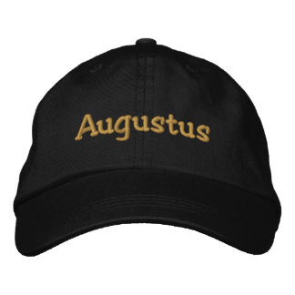 Augustus Personalized Embroidered Baseball Cap Hat