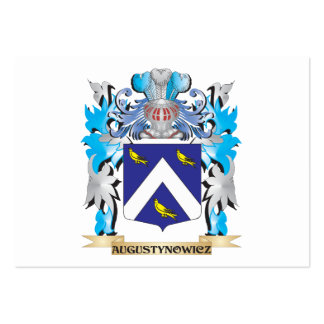 Augustynowicz Coat Of Arms Business Cards