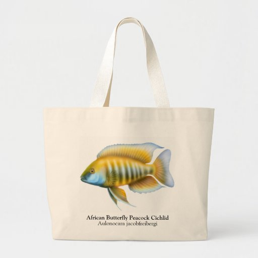 Aulonocara jacobfreibergi Cichlid Tote Bag