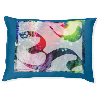 Aum (Om) Pillow Large Dog Bed