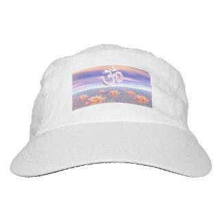 Aum - om upon waterlilies - 3D render Hat