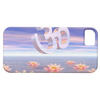 Aum - om upon waterlilies - 3D render iPhone 5 Covers