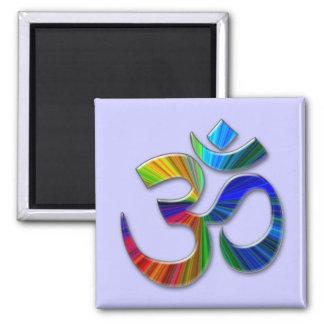 aum square magnet