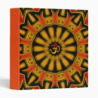 Aum wheel 3 ring binder