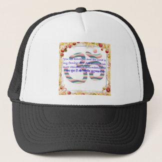 Aum : You are Beautiful and the World is Fam.jpg Trucker Hat