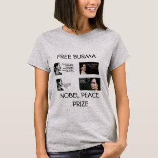 AUNG SAN SUU KYI NOBEL PEACE PRIZE SHIRT