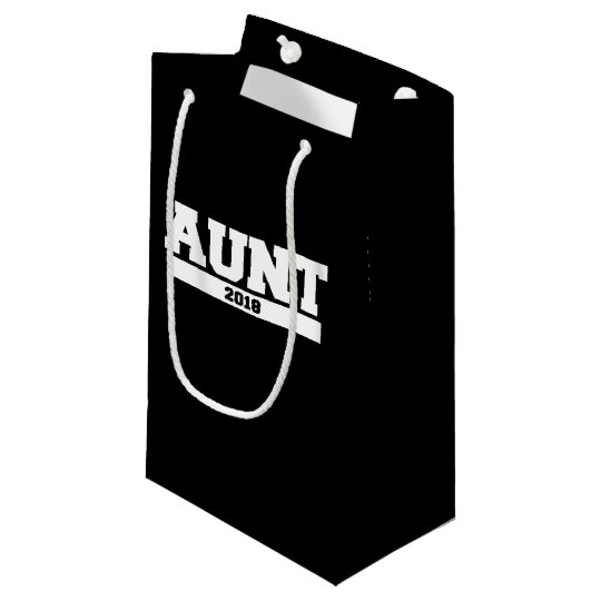 Aunt 2018 small gift bag