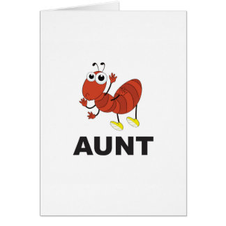 aunt ant fun card