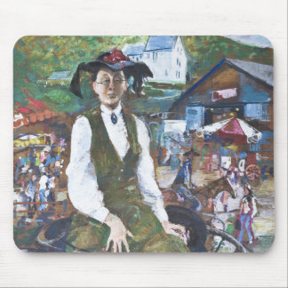 Aunt Betsy Stanislav Stanek Mouse Pad