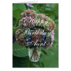 Aunt Hydrangea BQT- customize any occasion Card