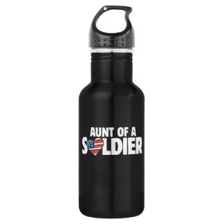 Aunt of a Soldier 532 Ml Water Bottle