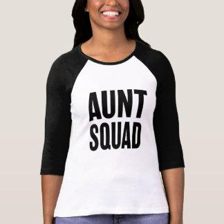 Aunt Squad funny women's auntie shirt