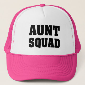 Aunt Squad Pink trucker hat for Auntie