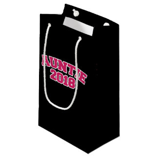 auntie 2018 small gift bag