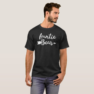 Auntie bear Cool Indian Teepee and Arrow Gift Tee