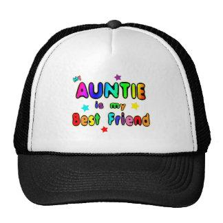 Auntie Best Friend Mesh Hat