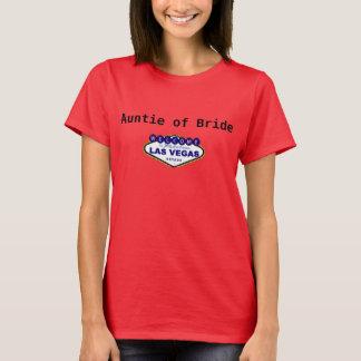 Auntie of Bride Tee Shirt