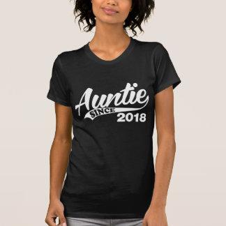 Auntie Since 2018 T-Shirt