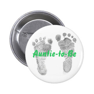 Auntie-to-Be 2 Inch Round Button