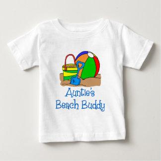 Auntie's Beach Buddy Baby T-Shirt