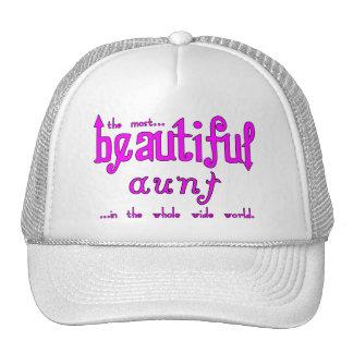 Aunties Birthdays Parties Christmas Beautiful Aunt Trucker Hat