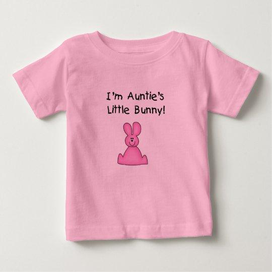 Auntie's Little Bunny (pink) Tshirt