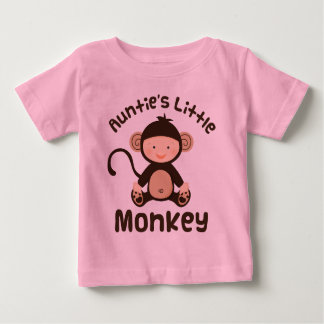 Aunties Little Monkey Baby T-Shirt