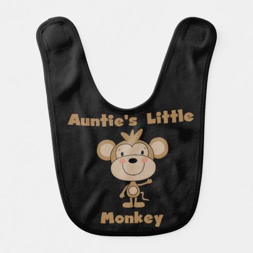 Auntie's Little Monkey Bib