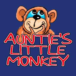 0b1710fb537cf2 Auntie s Little Monkey Hoodie