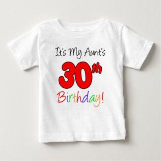 Aunt's 30th Birthday Baby T-Shirt