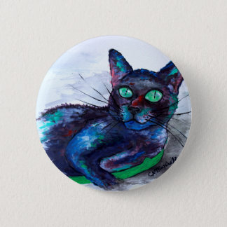 Aunt's Beautiful Companion, Ms. Biscuit 2 Inch Round Button