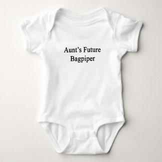 Aunt's Future Bagpiper Baby Bodysuit