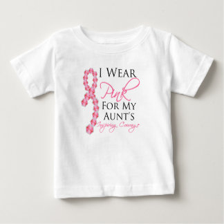 Aunt's Inspiring Courage - Breast Cancer T-shirts
