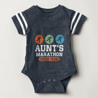 Aunt's Marathon Cheer Team Baby Bodysuit