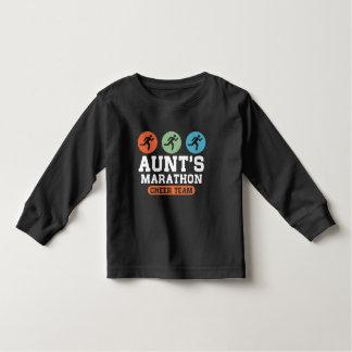 Aunt's Marathon Cheer Team Toddler T-shirt