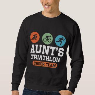 Aunt's Triathlon Cheer Team Sweatshirt