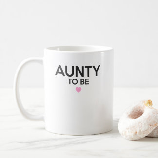 Aunty To Be Cute Print for Baby Showers Coffee Mug