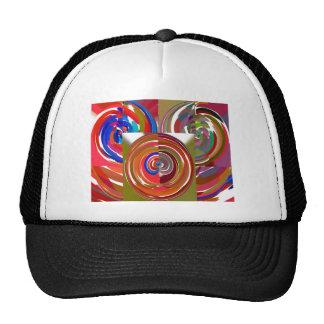 Aura Cycles - Color Therapy n Meditation Mandala 1 Trucker Hat