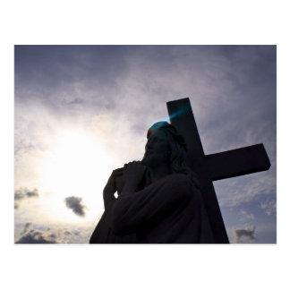 Aura of Jesus Postcard