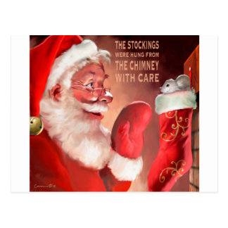 AURA The Stockings.jpg Postcard