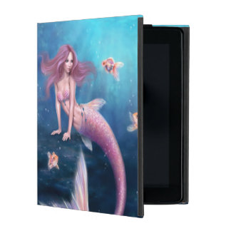 Aurelia Goldfish Mermaid Art iPad 2/3/4 Case