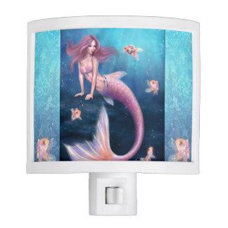 Aurelia Goldfish Mermaid Night Light