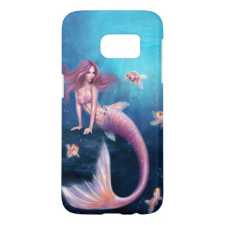 Aurelia Goldfish Mermaid Samsung Galaxy S7 Case