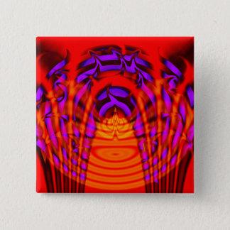 Aurify - Righteous Burn 2 Inch Square Button