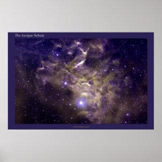 Aurigae Nebula Poster