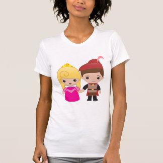 Aurora and Prince Philip Emoji 2 T-Shirt