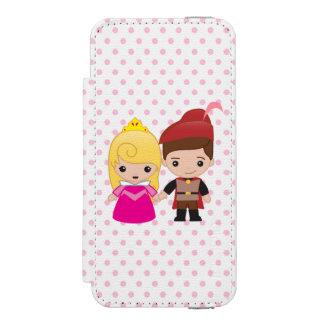 Aurora and Prince Philip Emoji Incipio Watson™ iPhone 5 Wallet Case