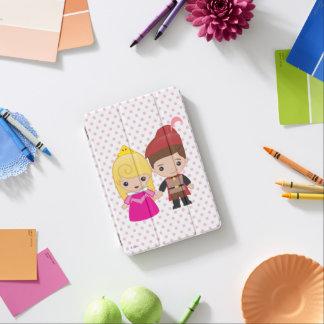Aurora and Prince Philip Emoji iPad Mini Cover