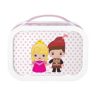 Aurora and Prince Philip Emoji Lunchboxes