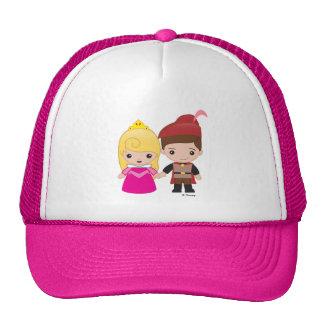 Aurora and Prince Philip Emoji Trucker Hat